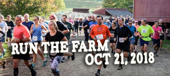 2018 Run The Farm Date Set